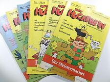 HANS HUCKEBEIN #  1 2 3 4 5 6 komplett  ( Marken Verlag )