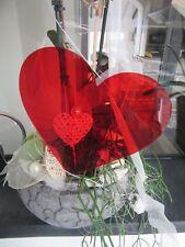 Farben Herz-Hänger Garden Weidenherz Dekoration Home Garten versch