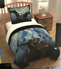 ❤️RARE - Marvel Black Panther Twin FULL Comforter Set 2 piece Quilt + Sham❤️