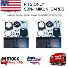 SeaDoo 951 Dual Mikuni SBNI Carb Carburetor Rebuild Kit GSX GTX RX XP LRV Ltd