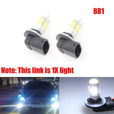 1X 881 6000K White COB LED Fog Driving Light DRL Bulb 886 889 894 896 898 H27W/2