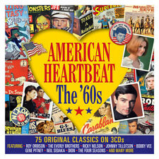 American Heartbeat: The 60s VARIOUS ARTISTS Best Of 75 Songs MUSIC New 3 CD