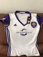 Adidas Climalite Orlando City SC MLS Soccer Jersey NWT Size L Womens