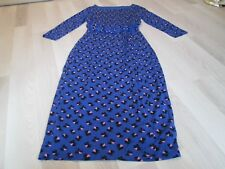 Boden Ladies Ruched Waist Boatneck Dress Size 6L