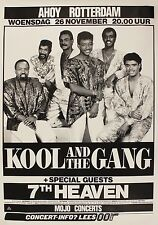 """Kool and the Gang Rotterdam 16"""" x 12"""" Photo Repro Concert Poster"""