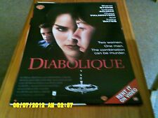 Diabolique (Sharon Stone, Chaz Palminteri) Movie Poster A2