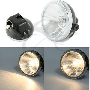 Headlight Round Head Light Head Lamp Fit For Yamaha YBR125 YBR 125 2002-2013 03
