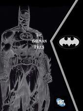 The Batman Files by Matthew Manning (2016, Hardcover)