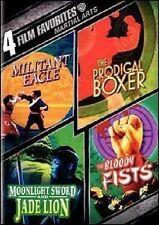 MARTIAL ARTS: 4 FILM FAVORITES MILITANT EAGLE / PRODIGAL BOXER / MOONLIGHT SWORD