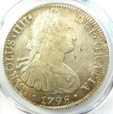 1798-MO FM Mexico Charles IV 8 Reales Coin (8R) - Certified PCGS AU Details