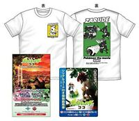 Theatrical Edition Pokemon Coco Special Advance Ticket With T-shirt JP LTD NEW