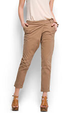 Pantalones de mujer beige Mango