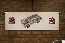 VAUXHALL CHEVETTE HSR 2300 RALLY grande in PVC resistente lavoro Negozio Banner Garage