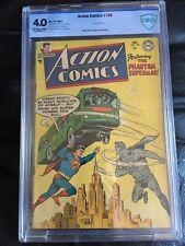 ACTION COMICS #199 CBCS VG 4.0; OW-W; scarce; Congo Bill!