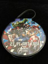 New 21 Piece Avengers Assemble Art Case for Kids