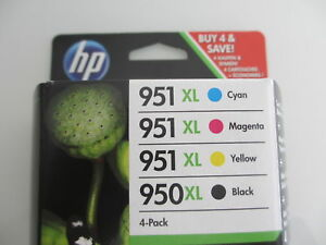 ORIGINAL SET C2P43AE HP Officejet  PRO 8600  HP950XL blk+ Nr.951XL C M Y