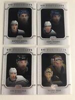 2019-20 upper Deck Series 1 Hockey UD PORTRAIT Lot (4 Card)