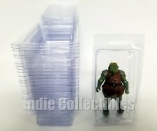 STAR WARS BLISTER CASE LOT 25 Action Figure Display Protective Clamshell MEDIUM