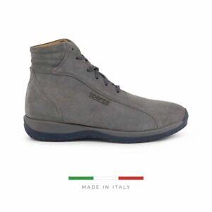 Sparco Monza-GP1 Grey Shoes Sneakers in Suede