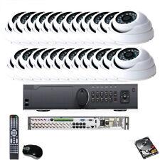 24 Channel Dvr Hd 1800Tvl Surveillance Ir-Cut Dome 24Ir Security Camera System
