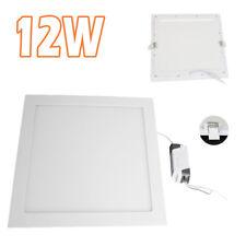 12 Watt Slim Square Ceiling Suspended LED Panel Cool White Light S247
