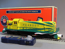 LIONEL PEABODY LIONCHIEF PLUS REMOTE CONTROL RS-3 DIESEL #101 train 6-84698 NEW
