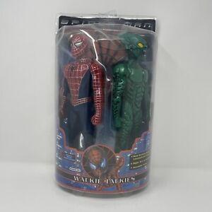 "Spider-Man & Green Goblin 12"" Figure Walkie Talkies (2001 MGA Entertainment) NEW"