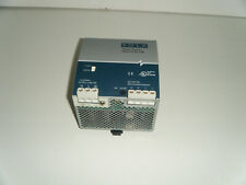 Emerson SOLA Power Supply SDN 10-24-100 115/230AC In  24VDC Out  10A DIN Mount