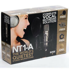 Rode NT1-A Studio Package 1-Inch Cardioid Condenser Microphone *GREAT VALUE*