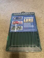 Shimano Lure Storage Box Green For Top Water Lures Tackle Fishing Boxes SHM-37TW