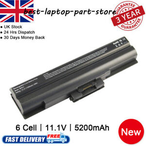 New BATTERY FOR SONY VAIO VGP-BPS13/S VGP-BPS13A/B VGP-BPS13A/S VGN-FW11E LAPTO