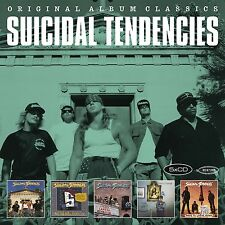 SUICIDAL TENDENCIES - ORIGINAL ALBUM CLASSICS 5 CD NEUF