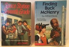 Space Station Seventh Grade, Finding Buck McHenry  (Set of 2 Books - LOT)