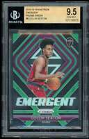 Collin Sexton Rookie Card 2018-19 Panini Prizm Emergent Prizms Green #8 BGS 9.5