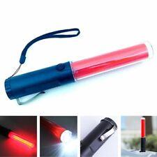 LED Flashlight Lamp Torch Lantern Traffic Police Baton Light Equipment Battery