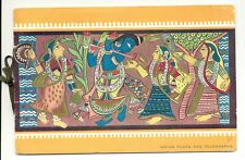 INDIA 1952-10-10 POETS SET FDC USED IN SPEC OFF. BOOKLET VF