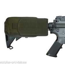 Condor M4 Buttstock Mag Pouch .223 & 5.56 - O.D. Green Tactical Molle #MA59