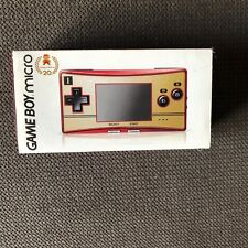 Console Game boy micro famicom nintendo 20th anniversary limited edition