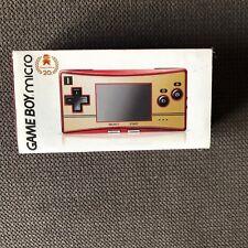 Console Game boy micro famicom nintendo 20th anniversary limited edition