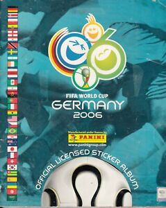 GERMANY 2006 complete panini album