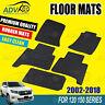 Tailored Rubber Floor Mats fit for Toyota LandCruiser Prado 150 Series 2002-2018