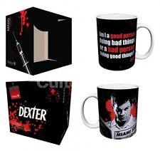 DEXTER Good Person/Bad Person Porcelain Coffee Mug, 11 oz, Boxed, Culturenik