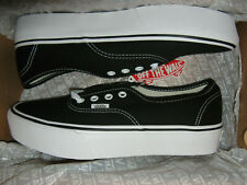Vans Authentic Platform Womens Sneakers Shoes Black White 10