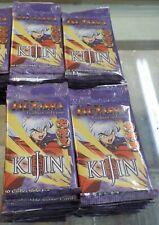 24  InuYasha Trading Card Game Kijin  Booster packs