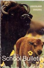 national geographic-SCHOOL BULLETIN-mar 3,1975-GRASSLAND GRAZERS.