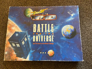 Doctor Who Vintage Battle For The Universe Board Game. 1989