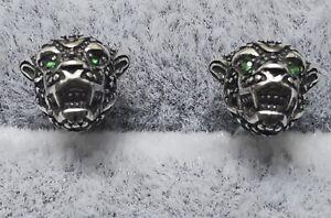Thomas Sabo Earrings Studs H2110-845-11 Black Cat Ag925
