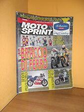 MotoSprint - n° 21 - 22/28 Maggio 1991 -Cagiva Elefant 900 GT/Aprilia 50 Replica