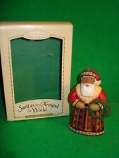 Hallmark Santas From Around the World United States 2004 Ornament