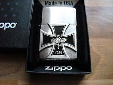 Original Zippo Sturmfeuerzeug Sammlerfeuerzeug Wehrmacht  Eisernes Kreuz 1939